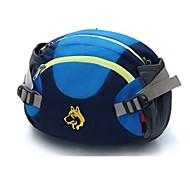 お買い得  -Jungle King 10 L ウエストバッグ - 通気性 アウトドア ハイキング, キャンピング, ランニング ナイロン イエロー, グリーン, ブルー