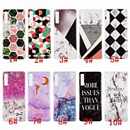Hülle Für Samsung Galaxy A8 Plus 2018 / A7 (2018) IMD / Muster Rückseite Marmor Weich TPU für A6 (2018) / A6+ (2018) / A7(2018)