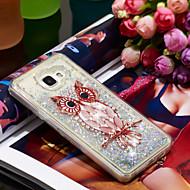 Недорогие Чехлы и кейсы для Galaxy A5(2016)-Кейс для Назначение SSamsung Galaxy A5(2016) Защита от удара / Сияние и блеск Кейс на заднюю панель Сова / Сияние и блеск Мягкий ТПУ для A5(2016)
