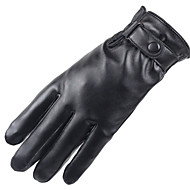 cheap -Men's Work / Basic Fingertips Gloves - Solid Colored