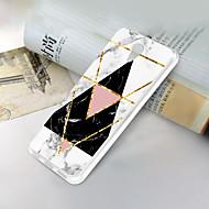 お買い得  携帯電話ケース-ケース 用途 ZTE ZTE Blade A510 超薄型 / パターン バックカバー マーブル ソフト TPU のために ZTE Blade A510