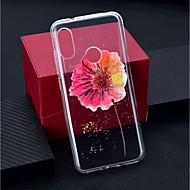 preiswerte Handyhüllen-Hülle Für Xiaomi Xiaomi Pocophone F1 / Xiaomi Redmi 6 Pro Transparent / Muster Rückseite Blume Weich TPU für Xiaomi Redmi Note 6 / Xiaomi Pocophone F1 / Xiaomi Redmi 6 Pro
