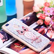 preiswerte Handyhüllen-Hülle Für Xiaomi Mi 5X Stoßresistent / Glänzender Schein Rückseite Eule / Glänzender Schein Weich TPU für Xiaomi Mi 5X
