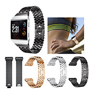 Недорогие Аксессуары для смарт-часов-Ремешок для часов для Fitbit ionic Fitbit Спортивный ремешок Нержавеющая сталь Повязка на запястье