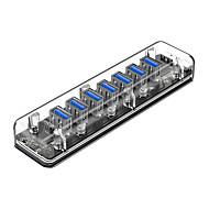 preiswerte USB Hubs & Switches-ORICO 7 USB-Hub USB 3.0 USB 2.0 Eingangsschutz Daten-Hub