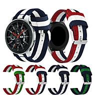 Недорогие Часы для Samsung-Ремешок для часов для Gear S3 Frontier / Gear S3 Classic / Gear 2 R380 Samsung Galaxy Спортивный ремешок Нейлон Повязка на запястье