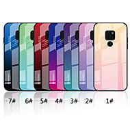 Etui Käyttötarkoitus Huawei Huawei Mate 20 Lite / Huawei Mate 20 Peili / Kuvio Takakuori Color Gradient Kova Karkaistu lasi varten Mate 10 lite / Huawei Mate 20 lite / Huawei Mate 20 pro