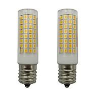 お買い得  LED コーン型電球-2pcs 5 W 460 lm E17 LEDコーン型電球 102 LEDビーズ SMD 2835 温白色 / クールホワイト 110-130 V