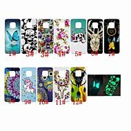 お買い得  携帯電話ケース-ケース 用途 Huawei Huawei Nova 3i / Huawei Mate 20 Pro 蓄光 / パターン バックカバー 動物 / ドリームキャッチャー / スカル ソフト TPU のために Huawei Nova 3i / Huawei Honor 10 / Mate 10 pro
