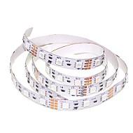 billiga -SENCART 1m Flexibla LED-ljusslingor 60 lysdioder 5050 SMD Varmvit / RGB / Vit Klippbar / Kopplingsbar / Lämplig för fordon 12 V 1st / Självhäftande / IP44
