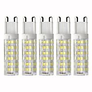abordables Bombillas LED de Mazorca-5pcs 4.5 W 450 lm G9 Bombillas LED de Mazorca T 76 Cuentas LED SMD 2835 Regulable Blanco Cálido / Blanco Fresco 110 V