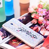 お買い得  携帯電話ケース-ケース 用途 Xiaomi Redmi Note 4 耐衝撃 / キラキラ仕上げ バックカバー キラキラ仕上げ ソフト TPU のために Xiaomi Redmi Note 4