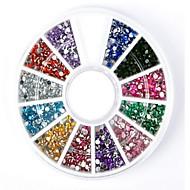 billige -1 pcs Rhinsten Multifunktionel Kreativ Negle kunst Manicure Pedicure Daglig Trendy / Mode