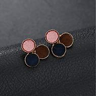 cheap -1 Pair Women's Geometrical Stud Earrings - Stylish Jewelry Rainbow For Graduation Street