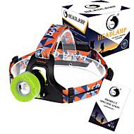 お買い得  フラッシュライト/ランタン/ライト-U'King ZQ-X8001 ヘッドランプ 自転車用ヘッドライト LED LED 1 エミッタ 2000LM 3 照明モード 焦点調整可, 充電式, 調光可能 キャンプ / ハイキング / ケイビング, 釣り, 多機能 イエロー / グリーン