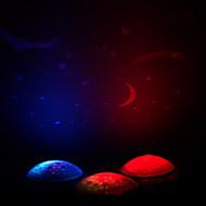 זול -קישוטים לחג לשנה החדשה / קישוטי חג מולד תאורת חג מולד אור LED / דקורטיבי רף צבע 1pc