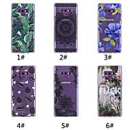 Недорогие Чехлы и кейсы для Galaxy Note 8-Кейс для Назначение SSamsung Galaxy Note 9 / Note 8 С узором Кейс на заднюю панель Продукты питания / Слова / выражения / дерево Мягкий ТПУ для Note 9 / Note 8