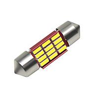 levne -SO.K 4ks 31 mm Auto Žárovky 3 W SMD 4014 250 lm 12 LED interiérových svítidel Pro Evrensel Všechny roky