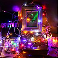 levne -BRELONG® 10 m Světelné řetězy 100 LED diody SMD 2835 Teplá bílá / Bílá / Vícebarevné Voděodolné / kreativita / Párty 100-240 V 1ks