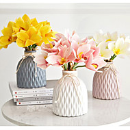 זול -פרחים מלאכותיים 4 ענף קלאסי חתונה / פסטורלי סגנון סחלבים פרחים לשולחן