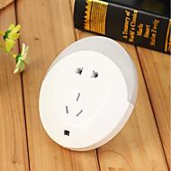 お買い得  -GoalStron 1個 LEDナイトライト DC電源 安全用具 / ライトコントロール 220-240 V