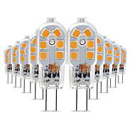 levne -10pcs 3 W 200-300 lm G4 LED Bi-pin světla T 12 LED korálky SMD 2835 Půvab 220-240 V