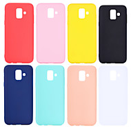 cheap Samsung Accessories-Case For Samsung Galaxy J7 (2017) / J4 Frosted Back Cover Solid Colored Soft TPU for J7 (2017) / J7 (2016) / J6 (2018)