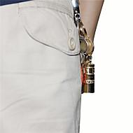 preiswerte Taschenlampen, Laternen & Lichter-U'King ZQ-X989 Schlüsselanhänger Taschenlampen LED LED 1 Sender 140LM 1 Beleuchtungsmodus Mini, Kompakte Größe, Größe S Für den täglichen Einsatz Gold