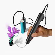 cheap -3D Printing Pen LCD display Speed Temperature adjustable 3D Scribble pen