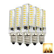 levne -5pcs 4 W 300-400 lm E12 LED corn žárovky T 80 LED korálky SMD 4014 Rozkošný Teplá bílá / Chladná bílá 110-130 V