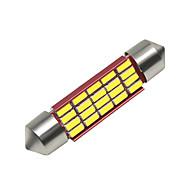 povoljno -SO.K 4kom 41mm Automobil Žarulje 3 W SMD 4014 250 lm 16 LED Svjetla u unutrašnjosti Za Univerzális Sve godine