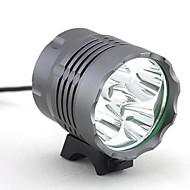 お買い得  -ヘッドランプ 自転車用ライト 自転車用ヘッドライト LED Cree® XM-L T6 5 エミッタ 4000 lm 3 照明モード キャンプ / ハイキング / ケイビング, 日常使用, サイクリング