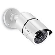 billige -ZOSI 1AC-2612C-W 1/3 tomme CMOS IR kamera / Vandtæt Kamera / Kugle Kamera H.264 IP66