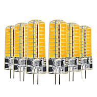 お買い得  -6本 5 W 400-500 lm G4 LED2本ピン電球 T 72 LEDビーズ SMD 5730 かわいい 温白色 / クールホワイト 12-24 V