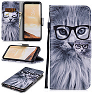 cheap -Case For Samsung Galaxy S8 Plus Wallet / Card Holder / Shockproof Full Body Cases Owl Hard PU Leather for S8 Plus