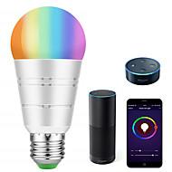 levne -KWB 1 sada 7 W 700-800 lm E26 / E27 LED chytré žárovky A19 22 LED korálky SMD 5730 Smart / Kontrola APP / Časování RGBW 100-240 V