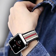 Klokkerem til Apple Watch Series 4/3/2/1 Apple Klassisk spenne Nylon Håndleddsrem