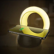 ieftine -BRELONG® 1 buc LED-uri de lumină de noapte Alb Cald DC Powered Încărcare Wireless / 3 Moduri / Ușor de Purtat 5 V