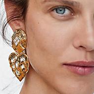 저렴한 -여성용 클래식 드랍 귀걸이 - 보석류 골드 제품 거리 1 쌍