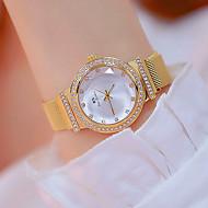 cheap -Women's Wrist Watch Japanese Quartz Silver / Gold / Rose Gold 30 m New Design Luminous Casual Watch Analog Casual Fashion - Gold Silver Rose Gold Two Years Battery Life / Imitation Diamond