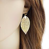 저렴한 -여성용 드랍 귀걸이 - 보타니칼 세련 단순한 보석류 골든 제품 일상 데이트 1 쌍