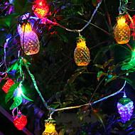 ieftine -5m Fâșii de Iluminat 20 LED-uri Multicolor Decorativ 5 V 1set