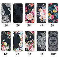 Coque Pour Huawei P20 / P20 Pro Transparente / Motif Coque Impression de dentelle / Fleur Flexible TPU pour Huawei P20 / Huawei P20 Pro / Huawei P20 lite