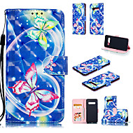 cheap -Case For Samsung Galaxy Galaxy S10 Plus / Galaxy S10 E Wallet / Card Holder / with Stand Full Body Cases Butterfly Hard PU Leather for S9 / S9 Plus / Galaxy S10