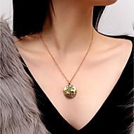 זול -בגדי ריקוד נשים שרשראות תליון שרשרת רומנטי אלגנטית זהב כסף 45 cm שרשראות תכשיטים 1pc עבור מתנה יומי מסיבת ערב פגישה (דייט) פֶסטִיבָל