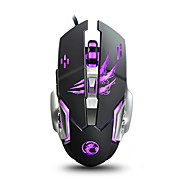 cheap -IMICE A8 Wired USB Gaming Mouse Led Breathing Light 1200/1600/2400/3200 dpi 4 Adjustable DPI Levels 6 pcs Keys