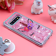 cheap -Case For Samsung Galaxy Galaxy S10 Plus / Galaxy S10 E Shockproof / Flowing Liquid / Pattern Back Cover Unicorn / Glitter Shine Soft TPU for S9 / S9 Plus / S8 Plus