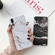 Case For Huawei P20 lite / Huawei Mate 20 Lite Ultra-thin / Pattern Back Cover Marble Hard PC for Huawei P20 / Huawei P20 Pro / Huawei P20 lite
