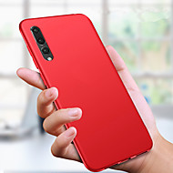 cheap -Case For Huawei Huawei P30 / Huawei P30 Pro Ultra-thin / Frosted Back Cover Solid Colored Soft TPU for Huawei P20 / Huawei P20 Pro / Huawei P20 lite