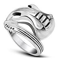 Χαμηλού Κόστους -Ανδρικά Δαχτυλίδι Τιτάνιο Ατσάλι Μοδάτο Δαχτυλίδι Κοσμήματα Ασημί Για Δώρο Καθημερινά